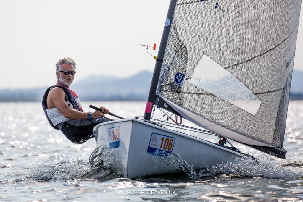 Jesus Pintos sailing pwind