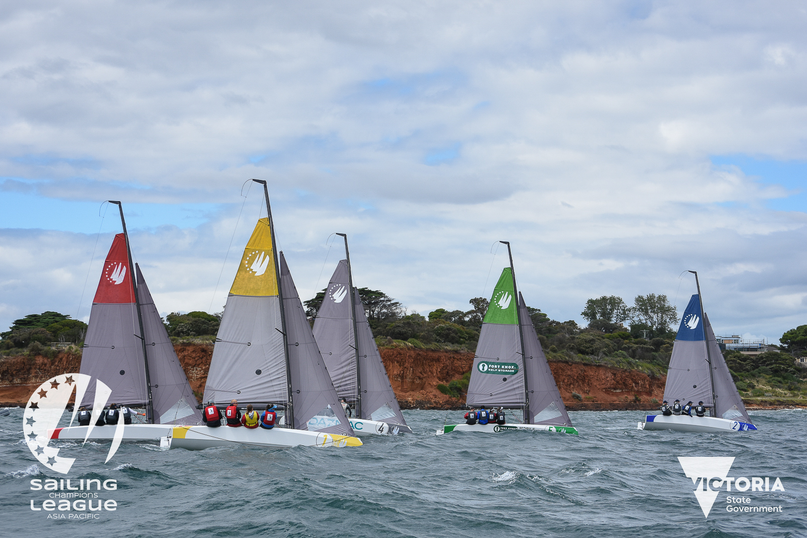 Tassie team wins Sailing Champions League - Asia Pacific opener